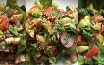 Creative salad ideas | Idées créatives de salade